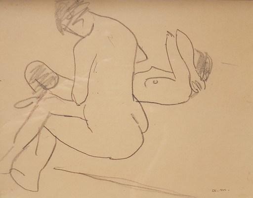 Albert MARQUET - Zeichnung Aquarell -  Les deux amies