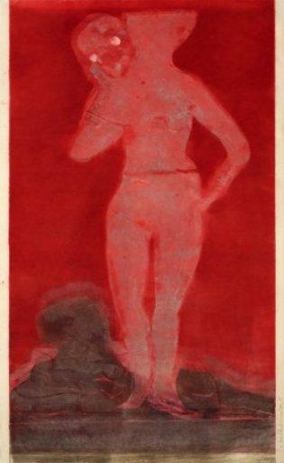 Leiko IKEMURA - Print-Multiple - Muchacha con la muerte 1