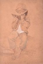Winslow HOMER - Dibujo Acuarela - No Title