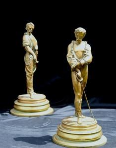 """LALOUETTE - 雕塑 - """"LES BRETTEURS"""""""