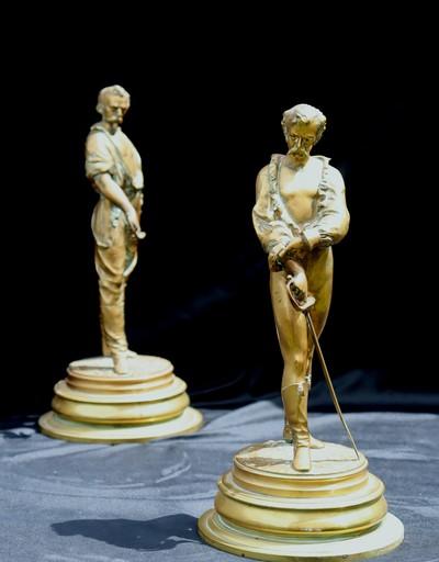 """LALOUETTE - Sculpture-Volume - """"LES BRETTEURS"""""""