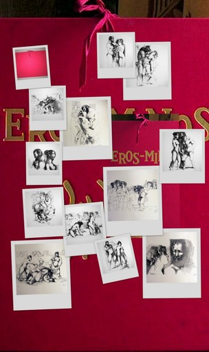 Manolo RUIZ PIPO - Print-Multiple - RUIZ PIPO EROS MINOS TBE PORTFOLIO 12 LITHOS SIGNEES