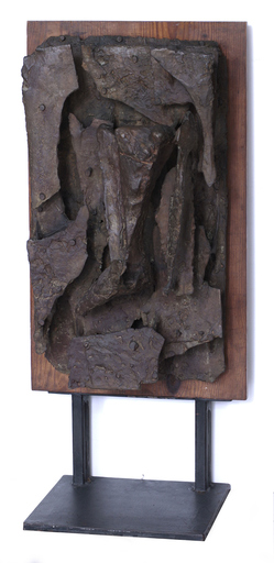 Luciano MINGUZZI - Skulptur Volumen - Bozzetto per Ippolito