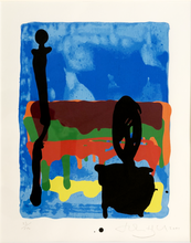 John HOYLAND - Print-Multiple - Untitled (Yellow, Blue and Red)