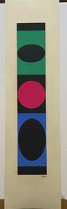 Yaacov AGAM - Grabado - Geometric Structures 1977/79