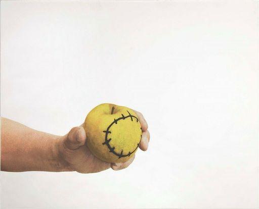 Michelangelo PISTOLETTO - Grabado - La mela reintegrata