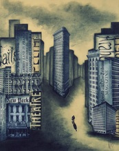 Géraldine THEUROT - Peinture - Urban V    (Cat N° 4926)