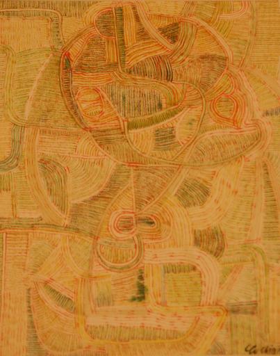 Georges COLLIGNON - Painting - compositie
