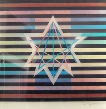 Yaacov AGAM - Estampe-Multiple - Star of David