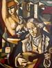 Stéphane GISCLARD - Peinture - Le cabaret