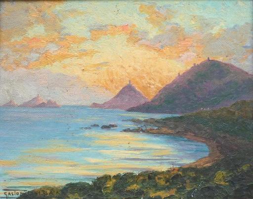 Gaston DELPARD - Pittura - Marine