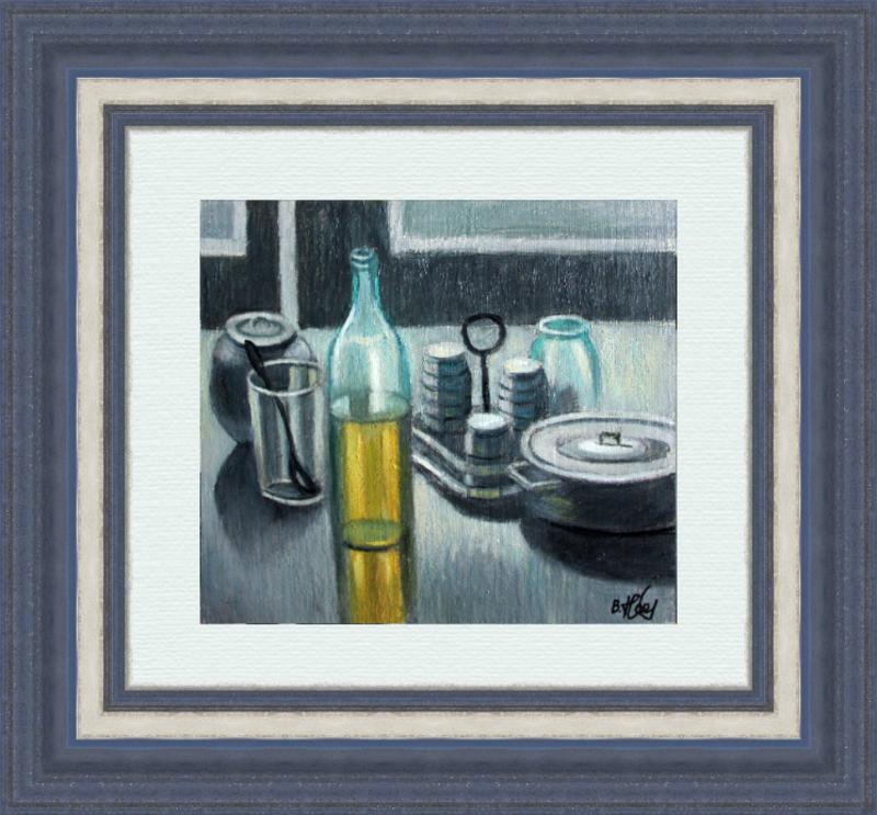 Valeriy NESTEROV - Gemälde - Still Life with Pan