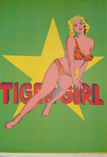 Mel RAMOS - Print-Multiple - Tiger Girl