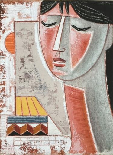 Mario TOZZI - Peinture - FIGURA
