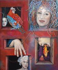 Katrin ALVAREZ - Pintura - Whistleblower