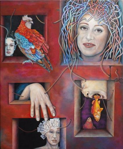 Katrin ALVAREZ - Painting - Whistleblower
