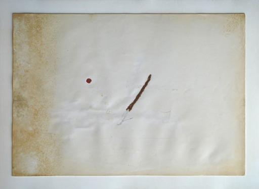 Pier Paolo CALZOLARI - Painting - Tabacco