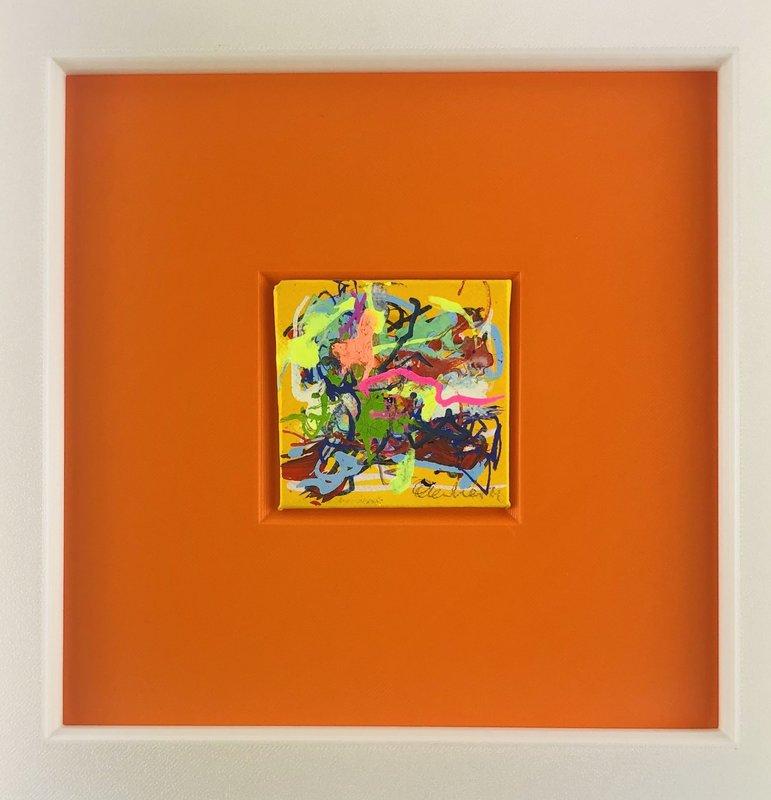 Nicole LEIDENFROST - Gemälde - In der Wüste  2