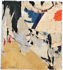 Mimmo ROTELLA - Painting - SETTE NASCOTO - 1956