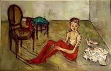 Françoise ADNET - Pintura - la petite danseuse