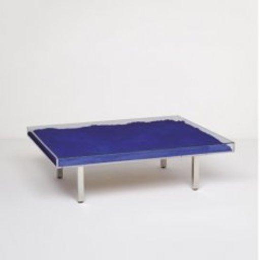 Yves KLEIN - Sculpture-Volume - Bleu