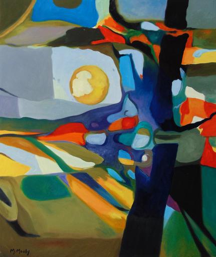 Marcel MOULY - Painting - Wheat Fields in the Sun | Champs de Blé au Soleil