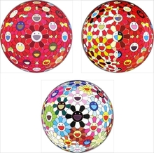 Takashi MURAKAMI - Print-Multiple - Flower Ball (3-D) Red Cliff/ Flowerball (3D) The Magic Flute