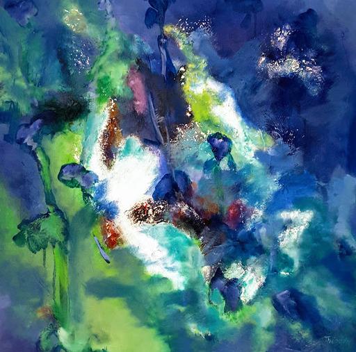 Theodora BERNARDINI - Painting - IRIS
