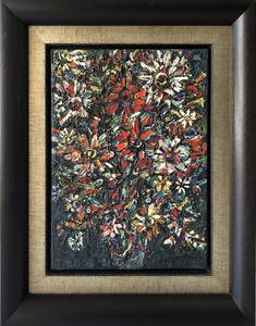 René PORTOCARRERO - Painting - Flores