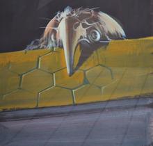 DADO - Peinture - Bird Man