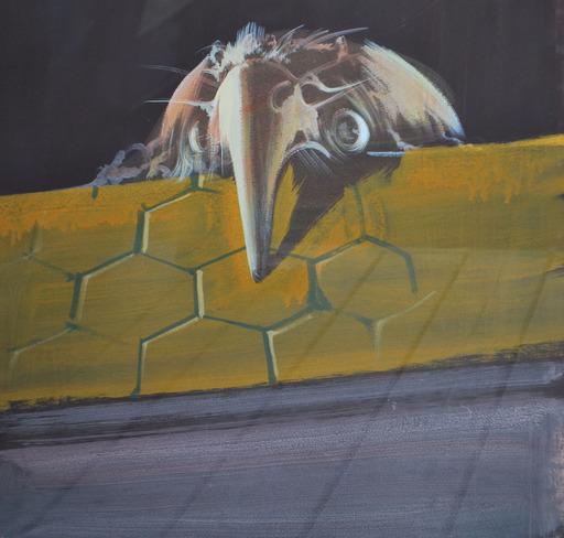 DADO - Pintura - Bird Man