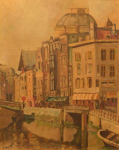 SAUL - Painting - Cityscape