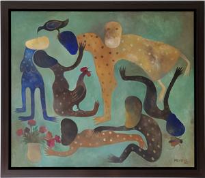 Manuel MENDIVE - Painting - La Ofrenda