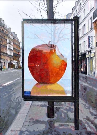 François BOISROND - Peinture - Pomme Réaumur