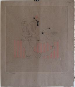 Hans BELLMER - Grabado - GRAVURE SIGNÉE AU CRAYON NUM/150 HANDSIGNED NUMB ETCHING