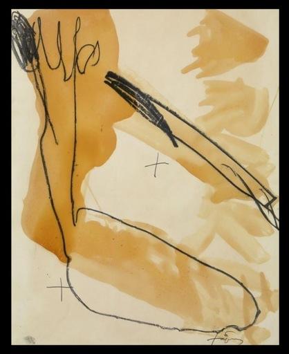 Antoni TAPIES - Peinture - VERNIS IV
