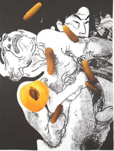 Daniel RICHTER - Estampe-Multiple - Untitled A