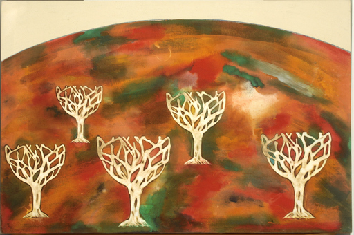 Renato MAMBOR - Peinture - Oliveto