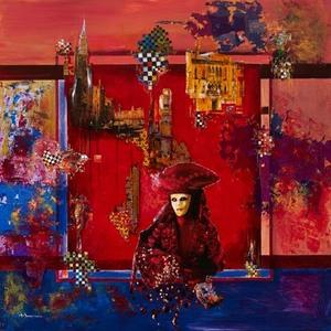 Alferio MAUGERI - Painting - Carnaval