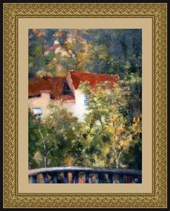 Levan URUSHADZE - Peinture - A cottage for sale