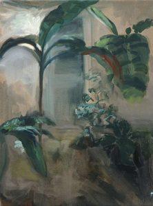 Clémence ARNOLD - Painting - « Cour végétale II »