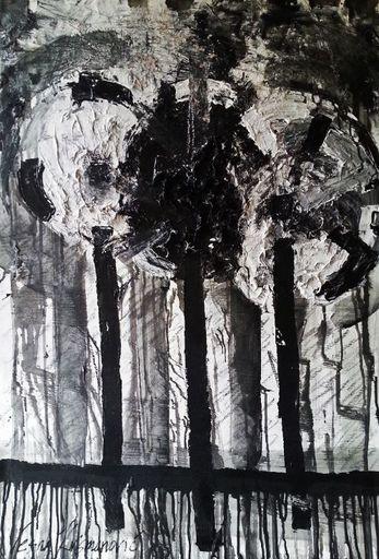 Vesna KRSMANOVIC - Painting - Three    (Cat N° 5298)