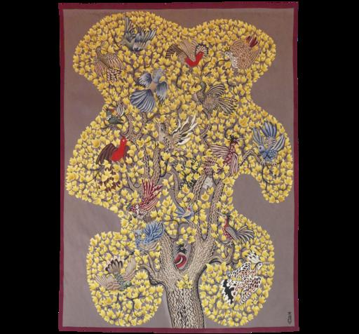 DOM ROBERT - Tapestry - L'arbre qui chante