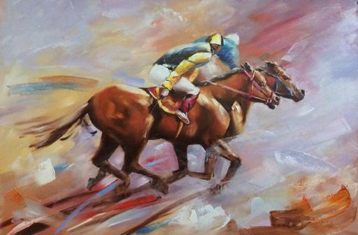 Diana MALIVANI - Pintura - The Course of Time