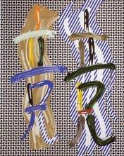 Roy LICHTENSTEIN (1923-1997) - Brushstroke Contest