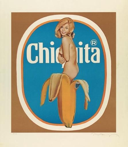 Mel RAMOS - Druckgrafik-Multiple - Chiquita