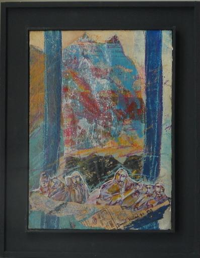 Daniel FILLOD - Painting - arriver au sommet de la montagne