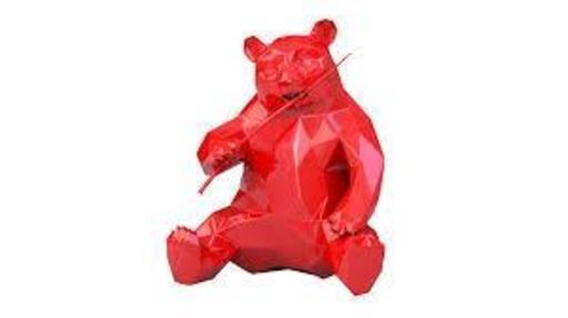 Richard ORLINSKI - Sculpture-Volume - PANDA RED