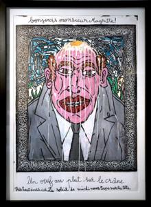 贡巴斯 - 绘画 - Bonjours Monsieur Magritte