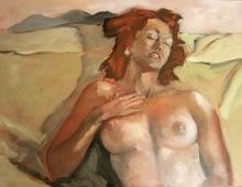 Jean-Paul CLAYETTE - Painting - HALF-SLEEP